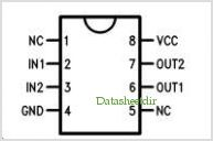 DS8673 pinout,Pin out