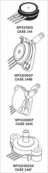 MPX2050GSX pinout,Pin out