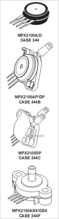 MPX2100A pinout,Pin out