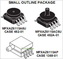 MPXAZ6115A pinout,Pin out