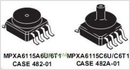 MPXH6115A pinout,Pin out