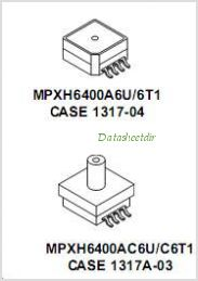 MPXH6400A pinout,Pin out