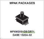 MPXM2051G pinout,Pin out