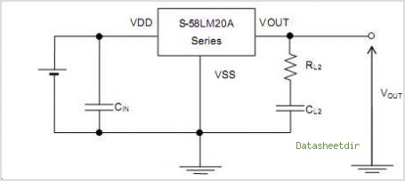 S-58LM20A-H4T1S circuits