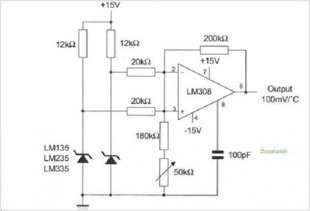 LM335Z circuits
