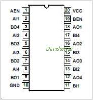ACTS240MS pinout,Pin out