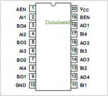 ACTS240T pinout,Pin out