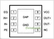 DS25BR100 pinout,Pin out