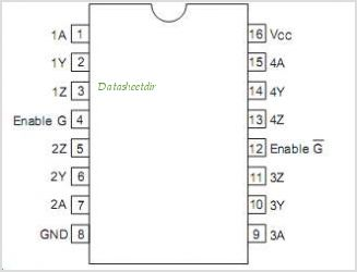 HD26C31 pinout,Pin out