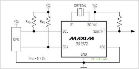 DS1372 circuits