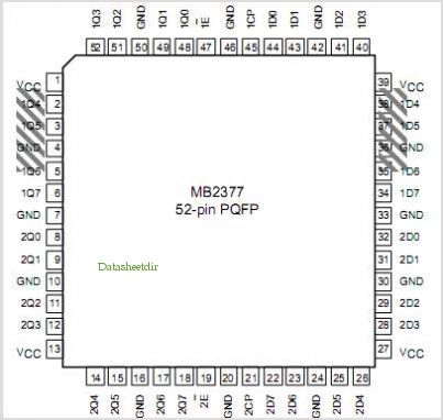 MB2377 pinout,Pin out