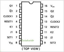TC4027BF pinout,Pin out