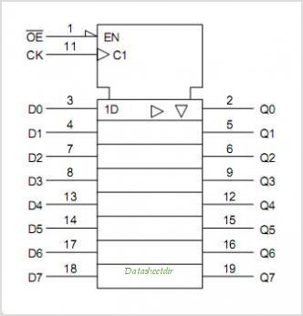 TC7MA374FK circuits