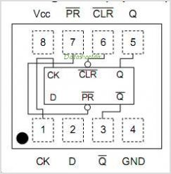 TC7WG74FC pinout,Pin out
