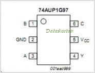 74AUP1G97 pinout,Pin out
