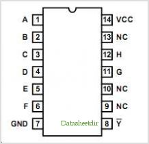 HCTS30DMSR pinout,Pin out