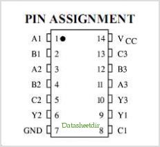 IW4025B pinout,Pin out