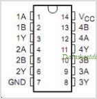 SN74AS1032ADG4 pinout,Pin out