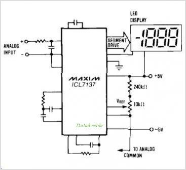 ICL7137CPL3 circuits