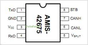 AMIS-42675 pinout,Pin out