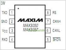 MAX3057 pinout,Pin out