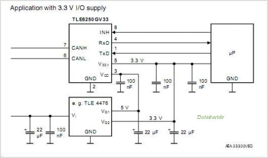 TLE6250G circuits