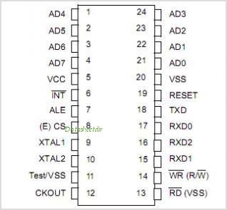 TSS461C pinout,Pin out