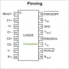 ILX3226N pinout,Pin out