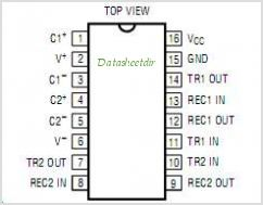 LT1281ACN-PBF pinout,Pin out