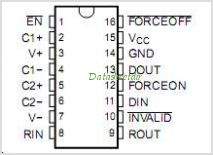 SN75C3221E pinout,Pin out