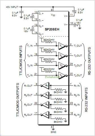 SP208EH circuits