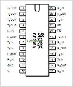 SP235A pinout,Pin out
