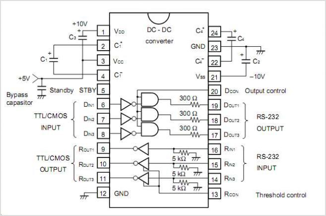 UPD4713A circuits