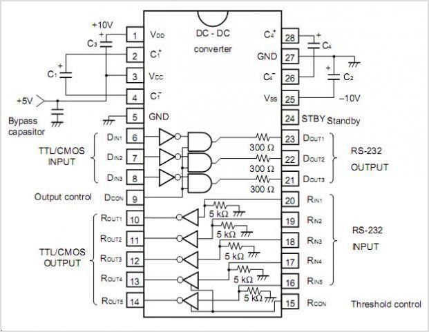 UPD4714A circuits