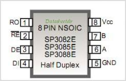 SP3085E pinout,Pin out