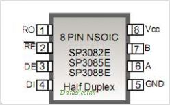 SP3080E pinout,Pin out