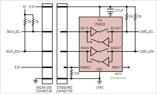 LTC4303IMS8-TRPBF circuits