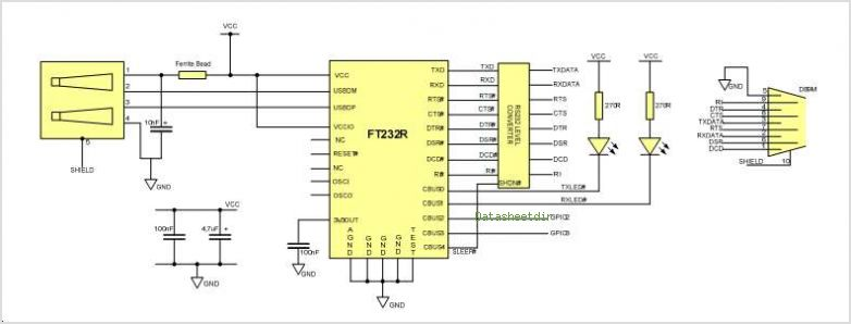 ft232r usb uart driver download