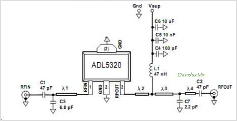 ADL5320ARKZ-R7 circuits