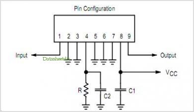 CA922 pinout,Pin out