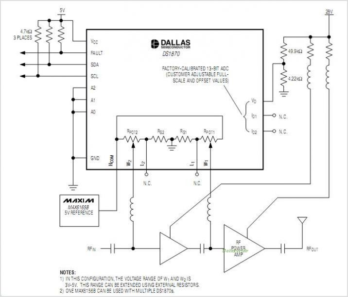 DS1870 circuits