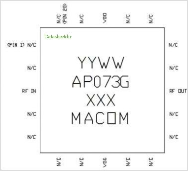 MAAP-000073-PKG003 pinout,Pin out