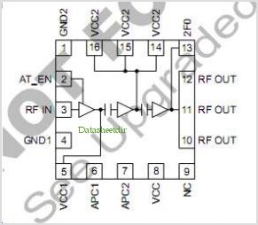 RF2140 pinout,Pin out
