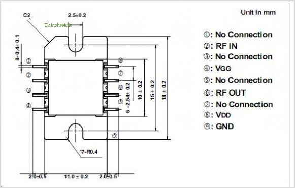TMD7185-2 pinout,Pin out