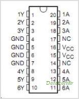 CDC204 pinout,Pin out