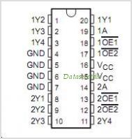 CDC208 pinout,Pin out