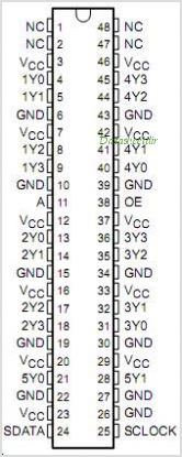 CDC318A pinout,Pin out
