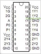CDC341 pinout,Pin out