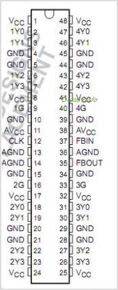 CDC516 pinout,Pin out
