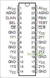 CDC536 pinout,Pin out